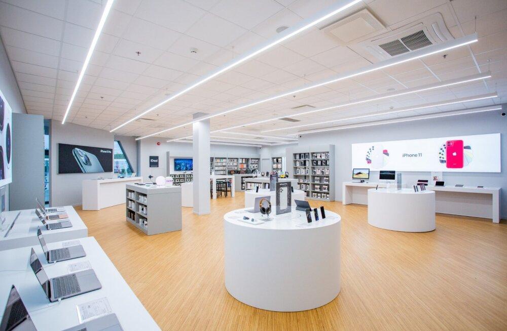 Ülemiste keskuses avati Eesti suurim Apple'i esindussalong