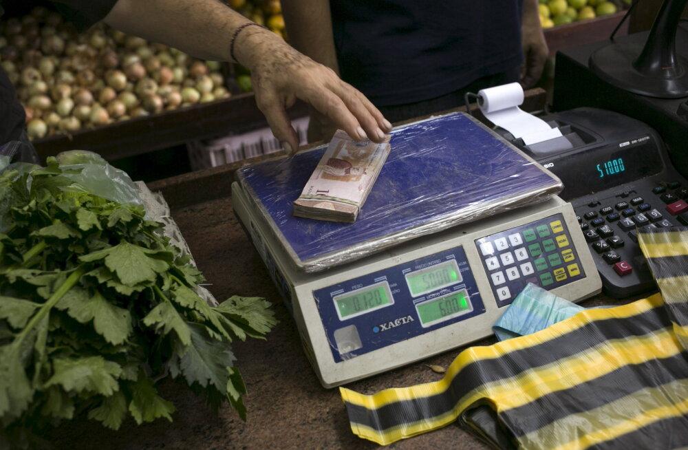 Venezuelas loobuti sularaha lugemisest. Kuidas arvestatakse raha hulka?