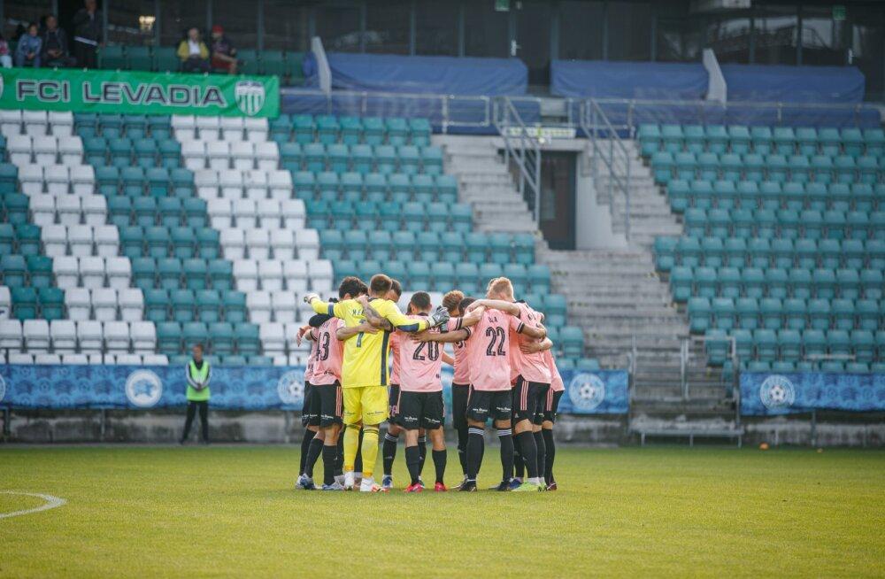 Tallinna FCI Levadia ja Nõmme Kalju FC kohtumine