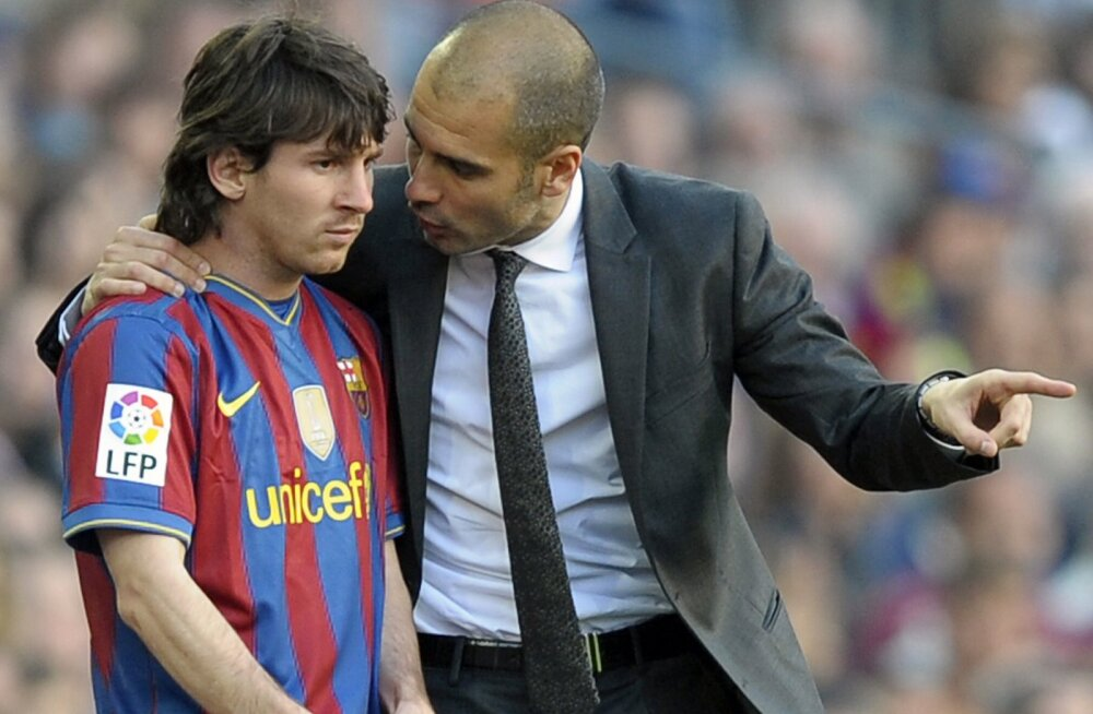 Kas Lionel Messi ja Pep Guardiola võivad taas koostööd teha? Nüüd juba Manchester Citys.
