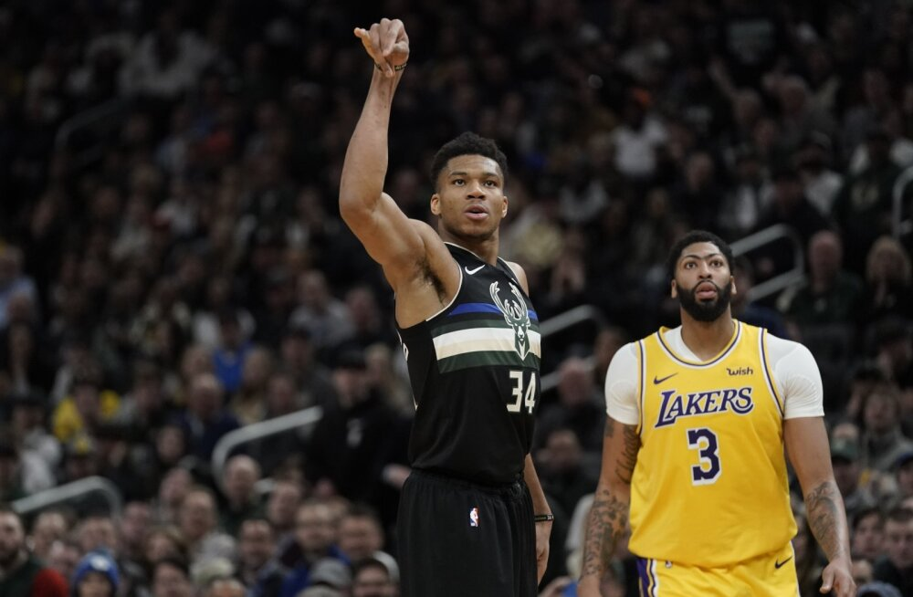 VIDEO | Antetokounmpo ja Co alistasid liidrite heitluses Lakersi superstaarid