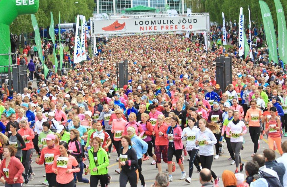 Saabuv naistepäevanädal aktiveerib tuhanded Maijooksust osavõtjad