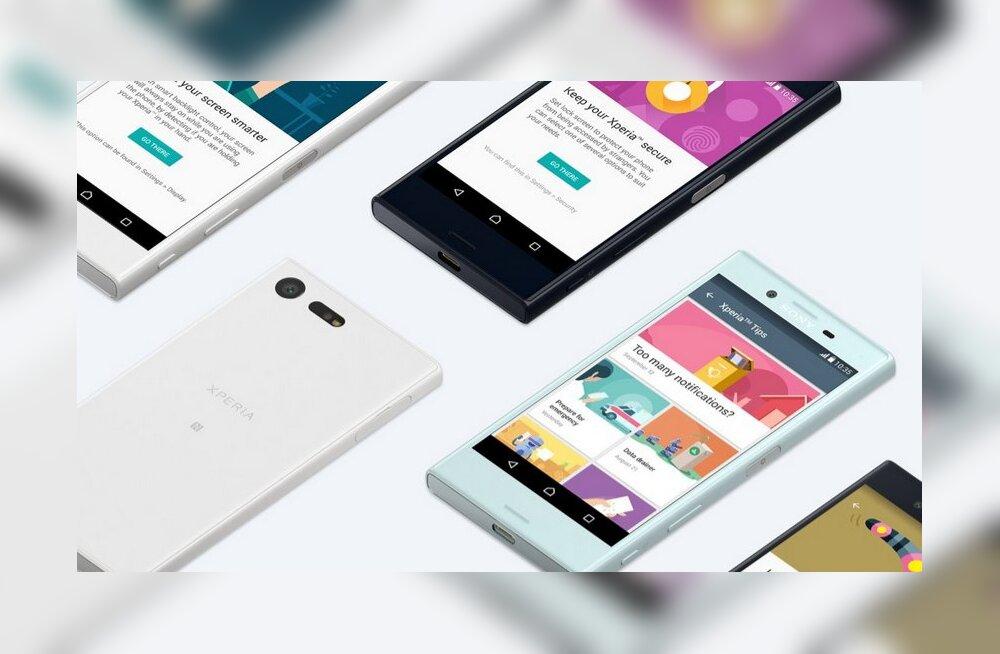 Kui palju Xperia X telefone ühel aastal ilmuma peaks? Sony tutvustas veel kahte!