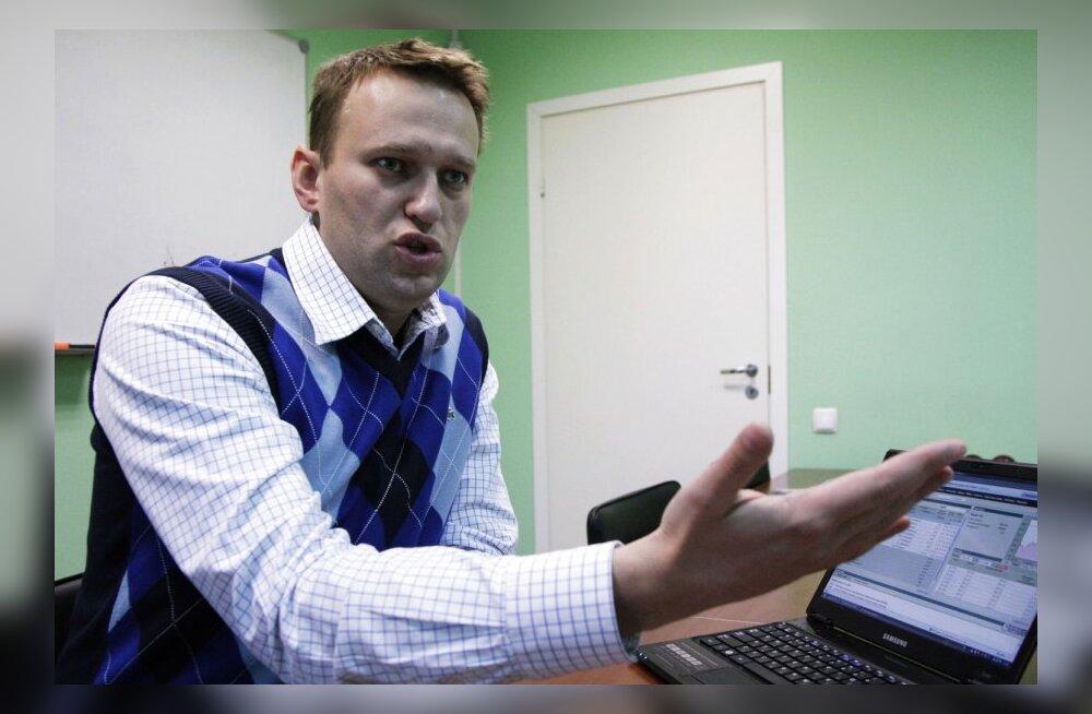 Navalnõi The Timesis: Vene valitsus töötab nagu kuritegelik rühmitus