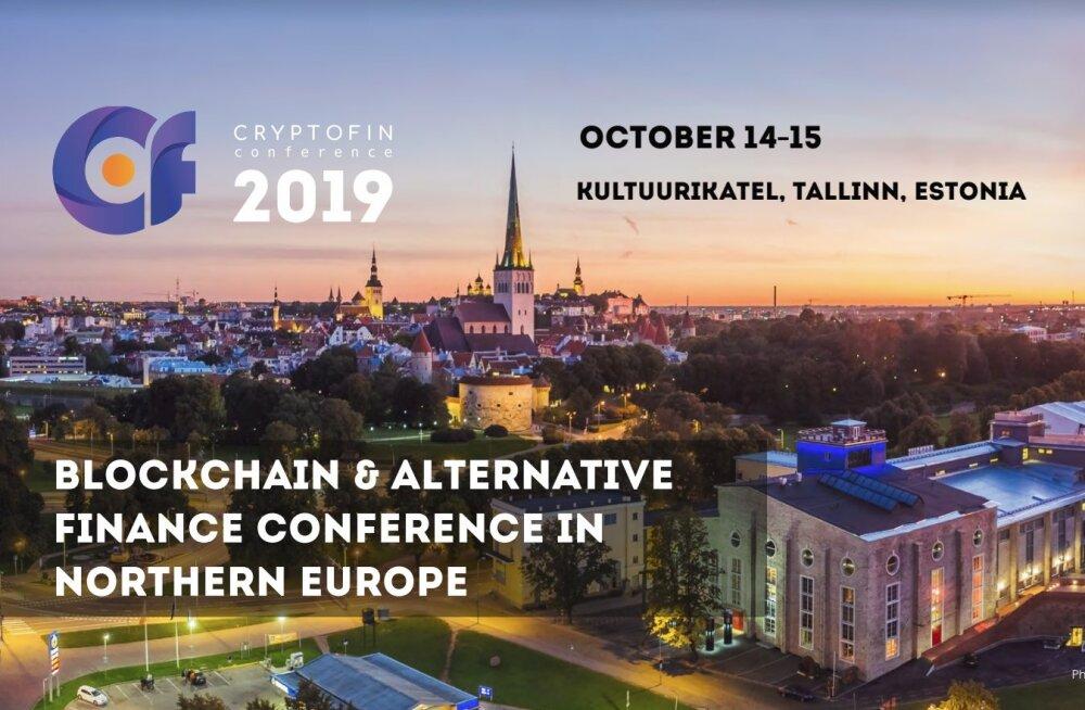 """Rahvusvaheline konverents """"CryptoFin"""" toob Tallinnasse alternatiivrahanduse sektori võtmeisikud"""