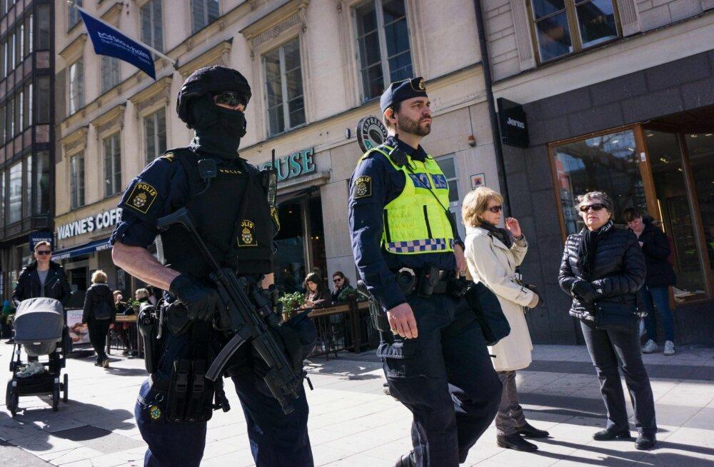 Stockholmis pussitati patrullpolitseinikut