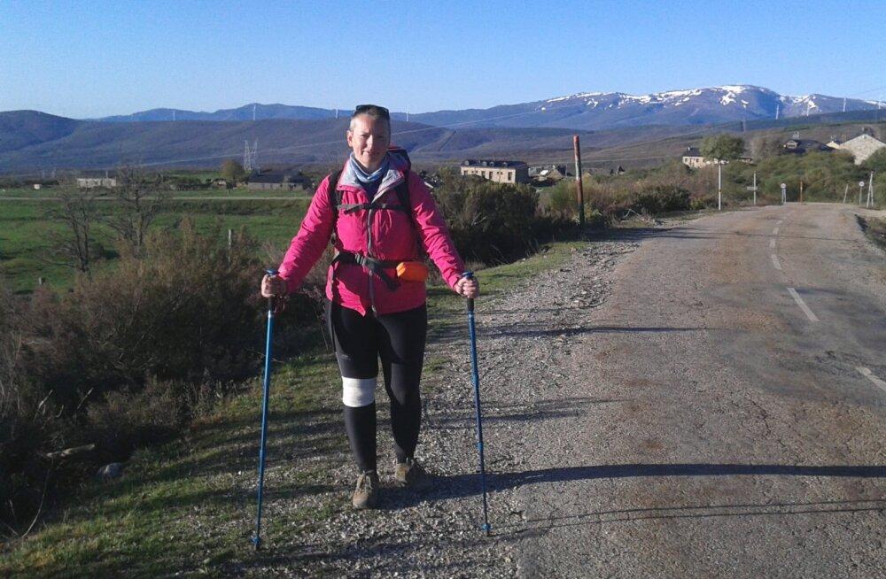 Jalgsi läbi Hispaania | Hoolimata mitmest valuvaigistist ei läinud enesetunne paremaks ja nutt oli pidevalt kurgus