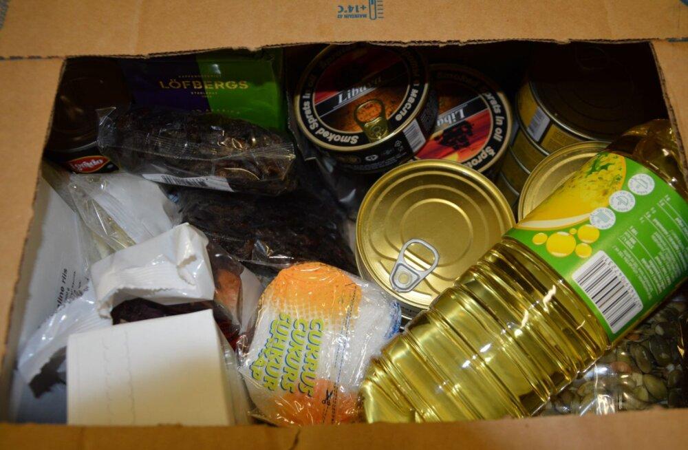 В столичном районе Кристийне распределят продовольственную помощь ЕС