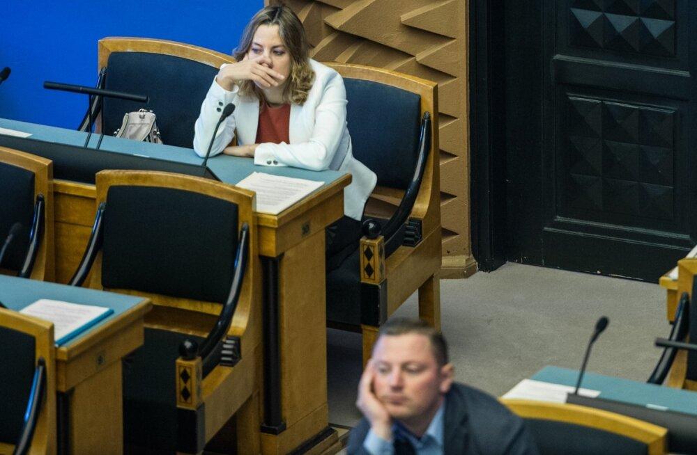 Juntimine Riigikogus