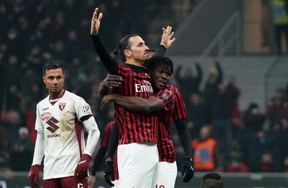 Ümbersünd? Zlatan Ibrahimovic aitas Milani viienda järjestikuse võiduni