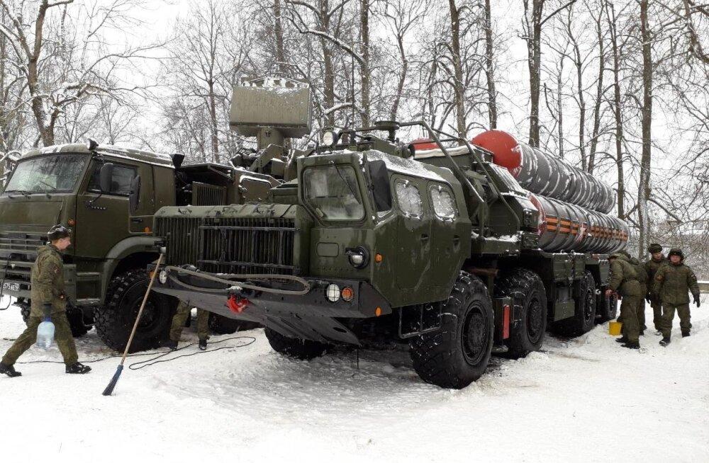 Sõjaväetehnika Ivangorodis 2018
