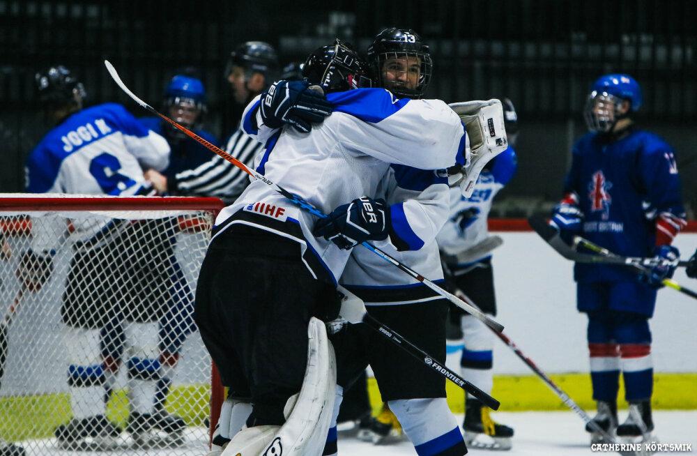 Eesti U20 hokikoondis valmistub MM-turniiriks