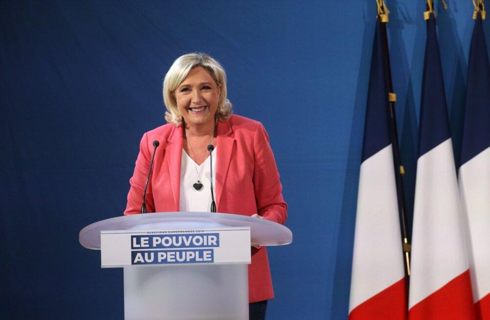 Le Peni rahaasjad: kahtlane laen Vene pangast ja sahkerdamine europarlamendis
