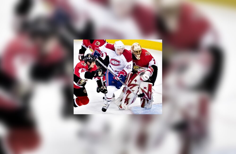 Montreal Canadiensi ja Ottawa Senatorsi kohtumine NHL-is