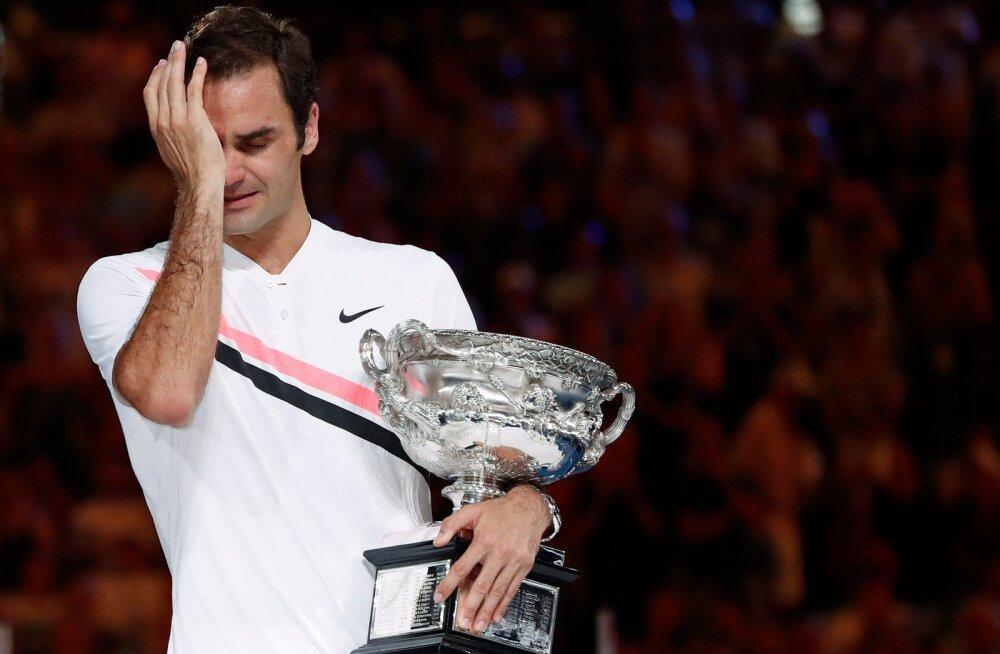 Roger Federer muutus mullusel Australian Openil oma seni viimast suurturniiri võites emotsionaalseks. Kas see oli viimane ja ta jääb 20 peale?