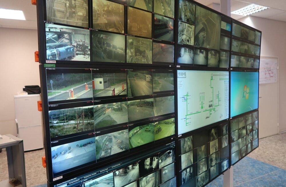 Dispetšeriruumi ekraanid