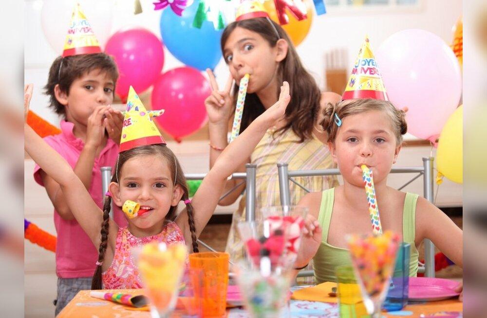 Lapse sünnipäev mängutoas — tort, mängud ja ohtralt alkoholi?
