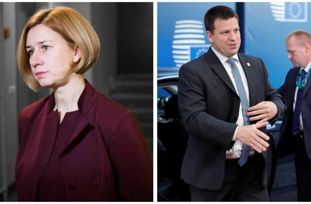 Генпрокурор Перлинг и премьер-министр Ратас отвергают подозрения в сговоре