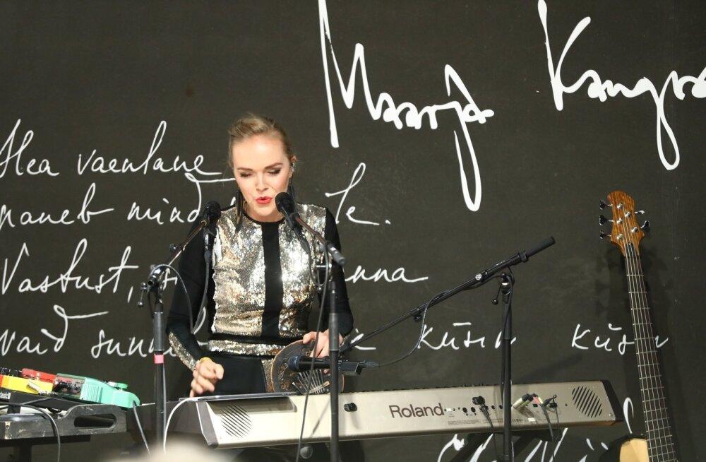 FOTOD | Kadri Voorandi värske album on lõpuks kohal