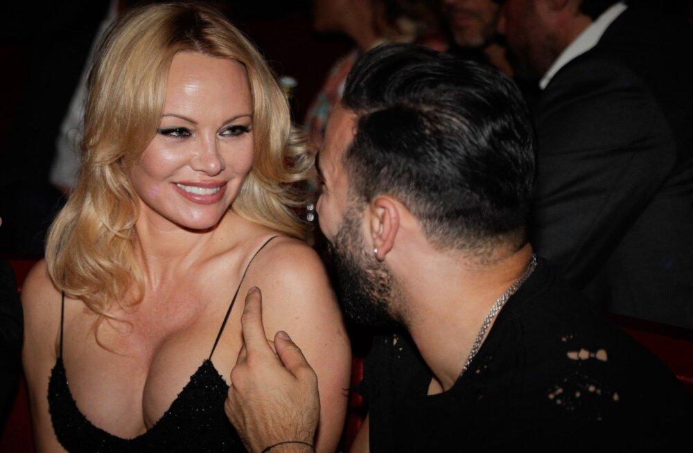 Pamela Anderson ja Adil Rami