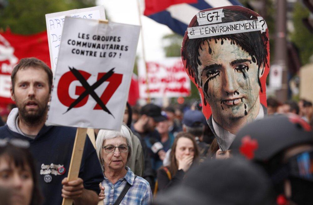 Саммит G7 пройдет на фоне глубокого кризиса в отношениях США и ЕС