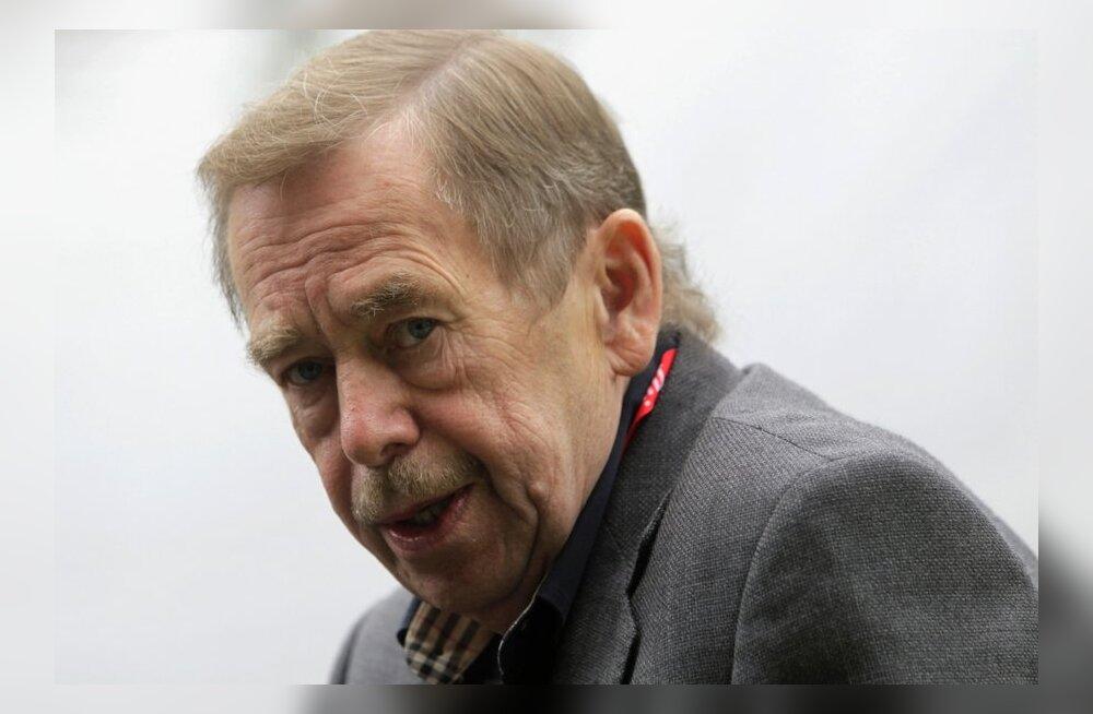 Tšehhi ja Euroopa liidrid mälestavad suurt eurooplast Václav Havelit
