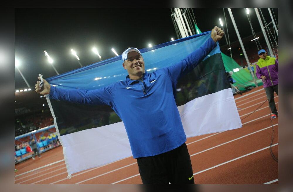 Gerd Kanter võitis EMilt hõbemedali