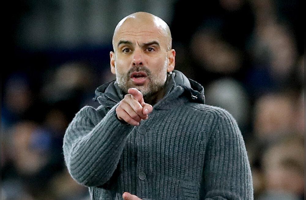 Pep Guardiola: tiitliheitluses võib kõik muutuda ühe hetkega