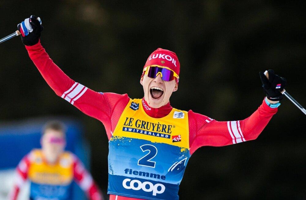 Aleksander Bolšunov võttis Tour de Skil veenva võidu.