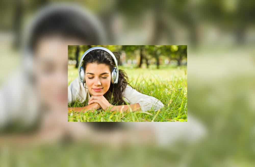 Meeldiv muusika mõjub hästi