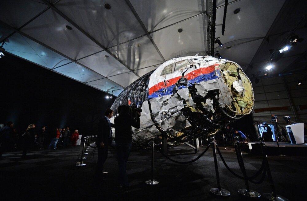 Ida-Ukraina lennukatastroofi on uurinud ka eradetektiiv, millega seoses toimusid läbiotsimised