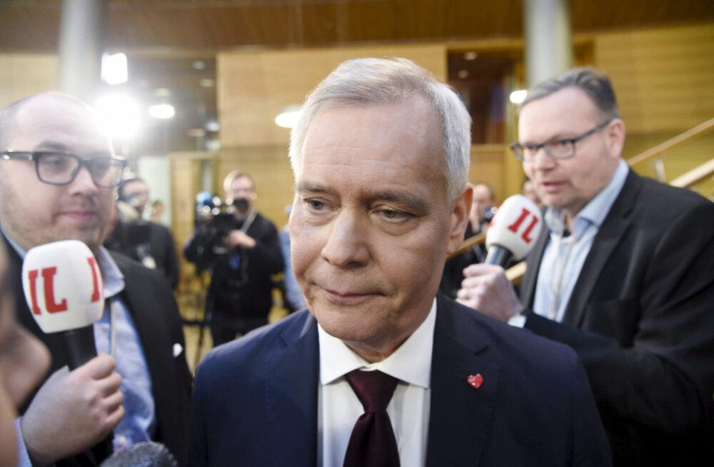 Soome sotside juht Delfile: kui asi jõuab koalitsioonikõnelusteni, ei välista me algul kedagi