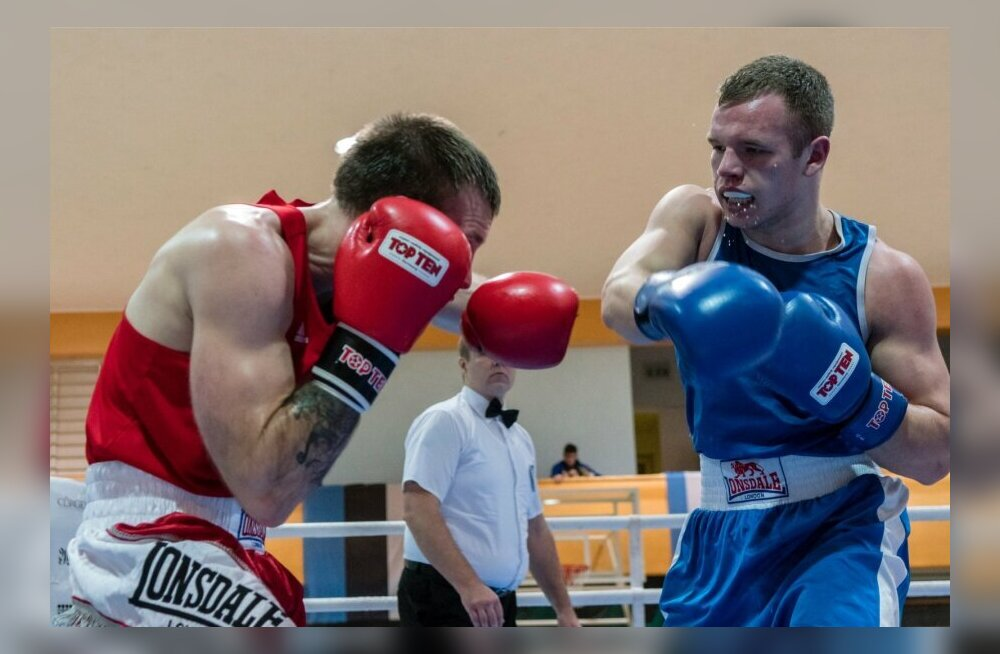 Tallinna meistrivõistluste finaalis näeb kolme poksi superlahingut