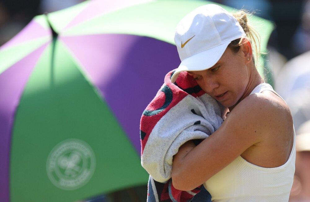Wimbledoni naiste turniir on võtmas kummalisi pöördeid: esimese asetusega Halep kaotas, esimesest kümnest asetatust on langenud juba üheksa