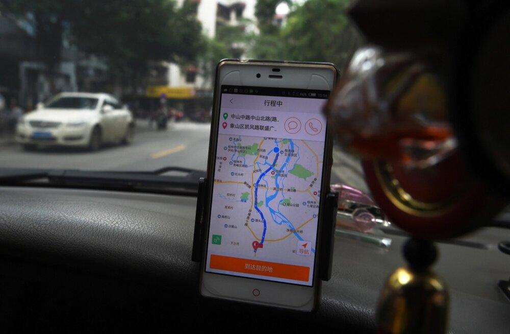Didi arendajad pingutavad selle nimele, et üha enam prognoosida klientide soove ja saata auto juba enne tellimist teele.