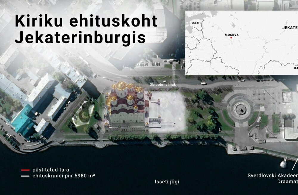 Jekaterinburgi kiriku graafik