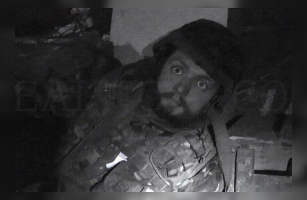 VIDEO: Donetski lennuvälja kaitsjatest filmi teinud ajakirjanik sattus miinipildujatule alla