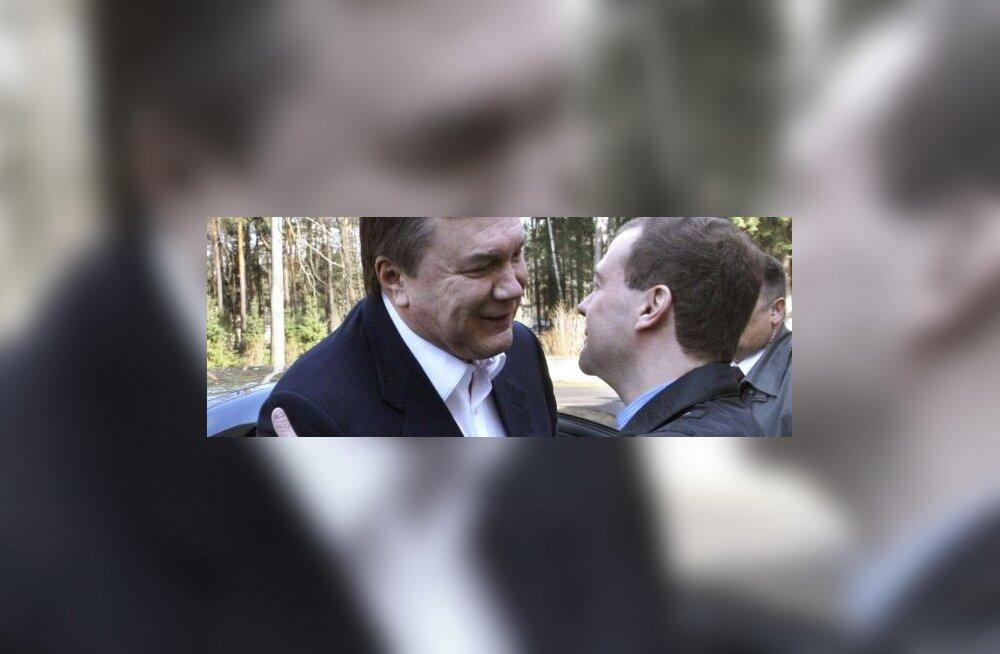 Janukovitš ja Medvedev