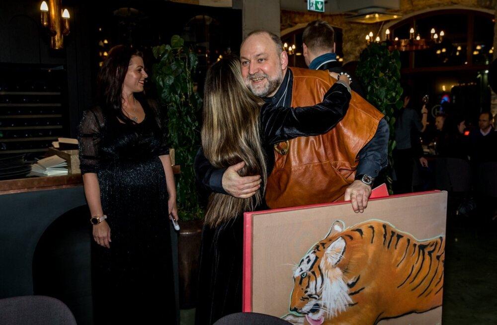 Tiigrioru toetuseks korraldati heategevuslik õhtusöök.