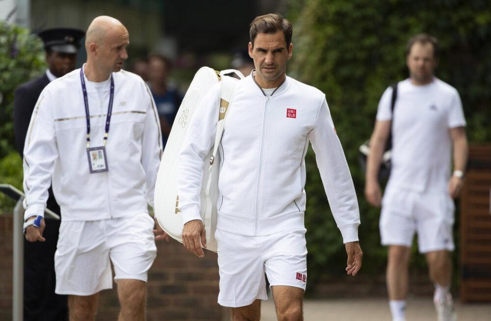 Federeri privaatne poeskäik Londonis käivitas politseioperatsiooni