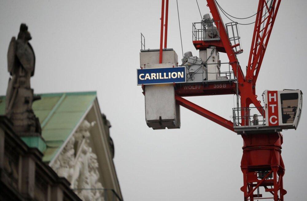 Valitsus keeldus Briti suure ehitusfirma päästmisest. Ettevõte kuulutas välja likvideerimise