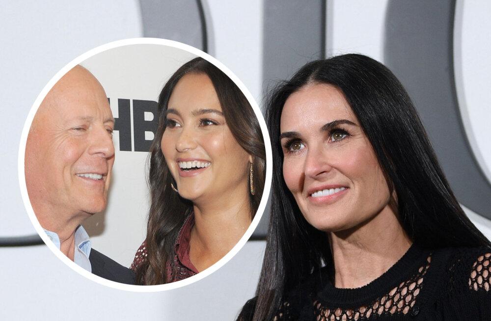Otse ja selgelt! Emma Heming Willis kommenteeris abikaasa Bruce Willise otsust isolatsioonis olla koos endise kallimaga
