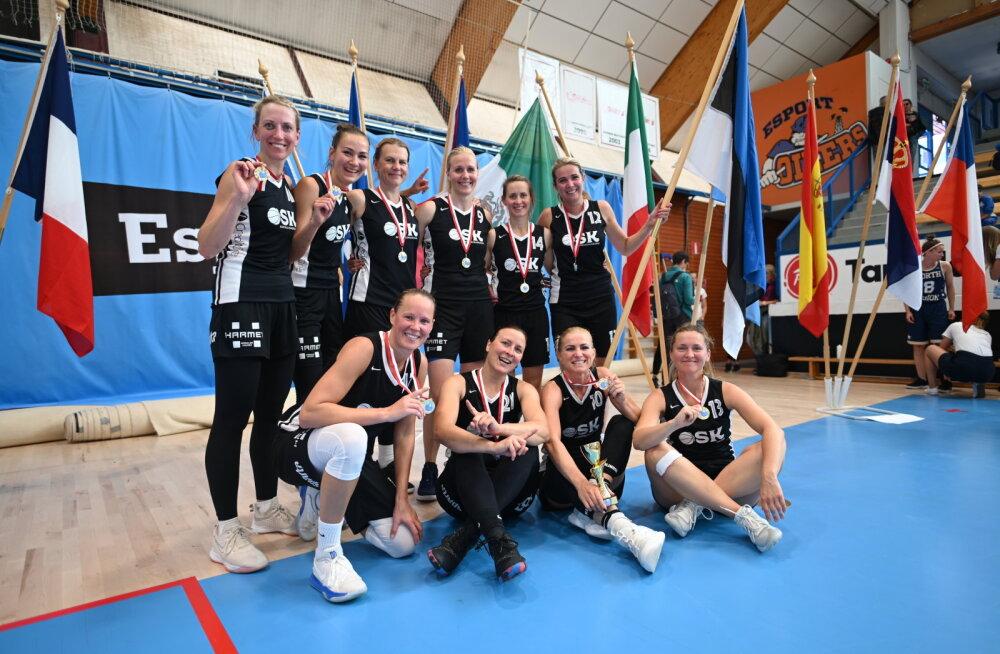 Eestlannad FIMBA Maxibasketball maailmameistrivõistlustel