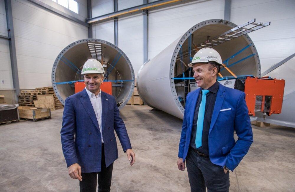 Tuuleettevõtjad Oleg (vasakul) ja Andres Sõnajalg
