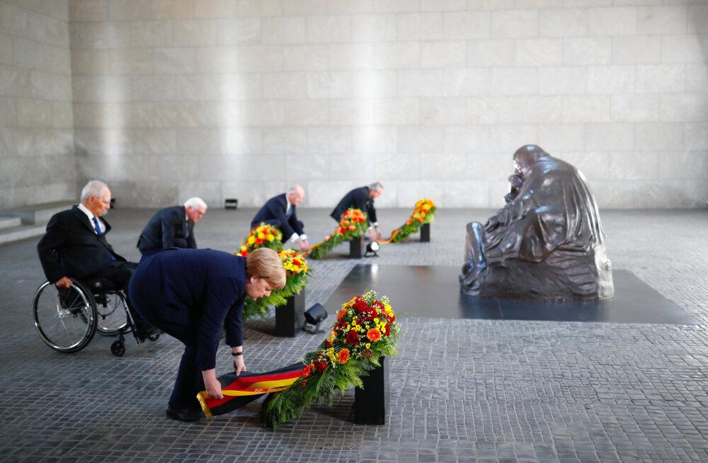 Saksamaa president hoiatas Teise maailmasõja lõpu 75. aastapäeva kõnes uue natsionalismi kiusatuse eest