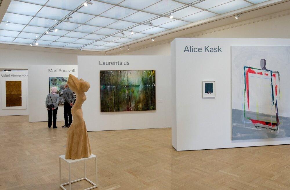 Kevadnäitus 2019 Tallinna Kunstihoones.