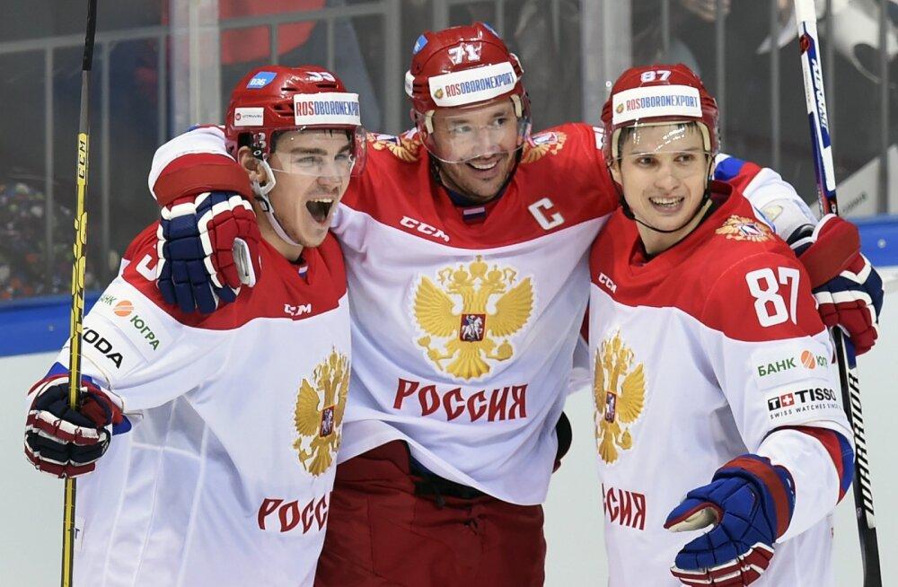 Selgus Venemaa hokikoondise koosseis: Datsjuk ja Kovaltšuk lähevad viiendale olümpiale