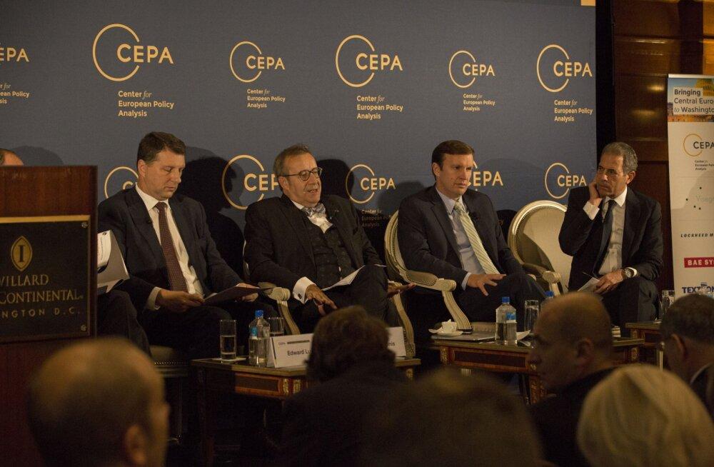President Ilves Washingtonis: Venemaa tegevus Süürias on asetanud Euroopa riigid raskete valikute ette