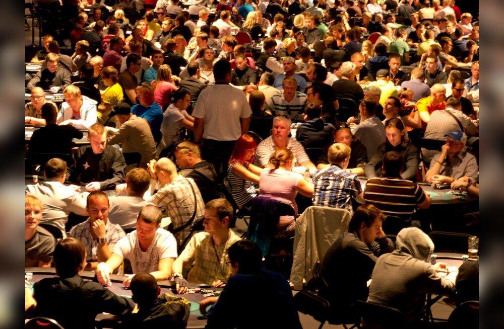FOTOD: Tallinna pokkeriturniirile kogunes tuhat osalejat