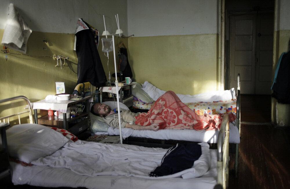 HIVi epideemia ei näita vaibumise märke: Venemaal ületas nakatunute arv miljoni